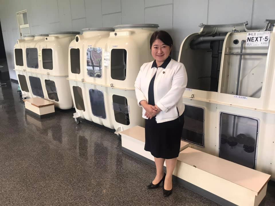 衆議院議員 小宮山泰子ホームページ | 合併処理浄化槽の製造工場を見学